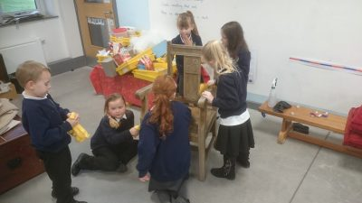 Our New Story Chair Haytor View Primary School Nursery